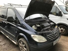 Mercedes Vito 111 cdi 115 108 cdi spare parts available