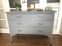 Vintage Chest of Drawers Free Delivery Ldn Solid wood