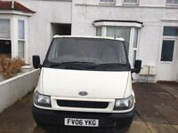 Ford transit, good clean condition, no tears, drives well, boarded in the back. Views welcome