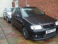 2000 VW Polo Gti 1.6 petrol SPARES OR REPAIR READ ADD 2 Cars for 1 price