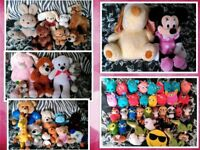 FREE Bundle of Teddies / Soft Toys / Plush Disney Minnie Mouse, Furby, Secret Life of Pets etc.
