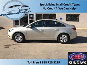 2014 Chevrolet Cruze LOW KM'S (25370 KM'S) WELL EQUIPPED & WON'T