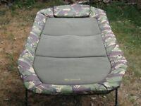 carp fishing wychwood tactical wide bedchair flatbed