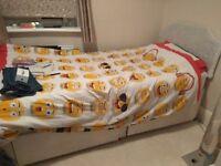 Free single bed