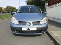 Automatic, Renault scenic 1.6 petrol for sale, MOT, drives well,