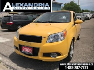 2009 Chevrolet Aveo LT/97km/auto/sunroof/safety included