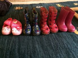 Girls size 4 toddler shoe bundle