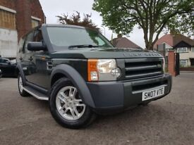 2007 LAND ROVER DISCOVERY 3 2.7 DIESEL AUTO TOW BAR 7 SEATER