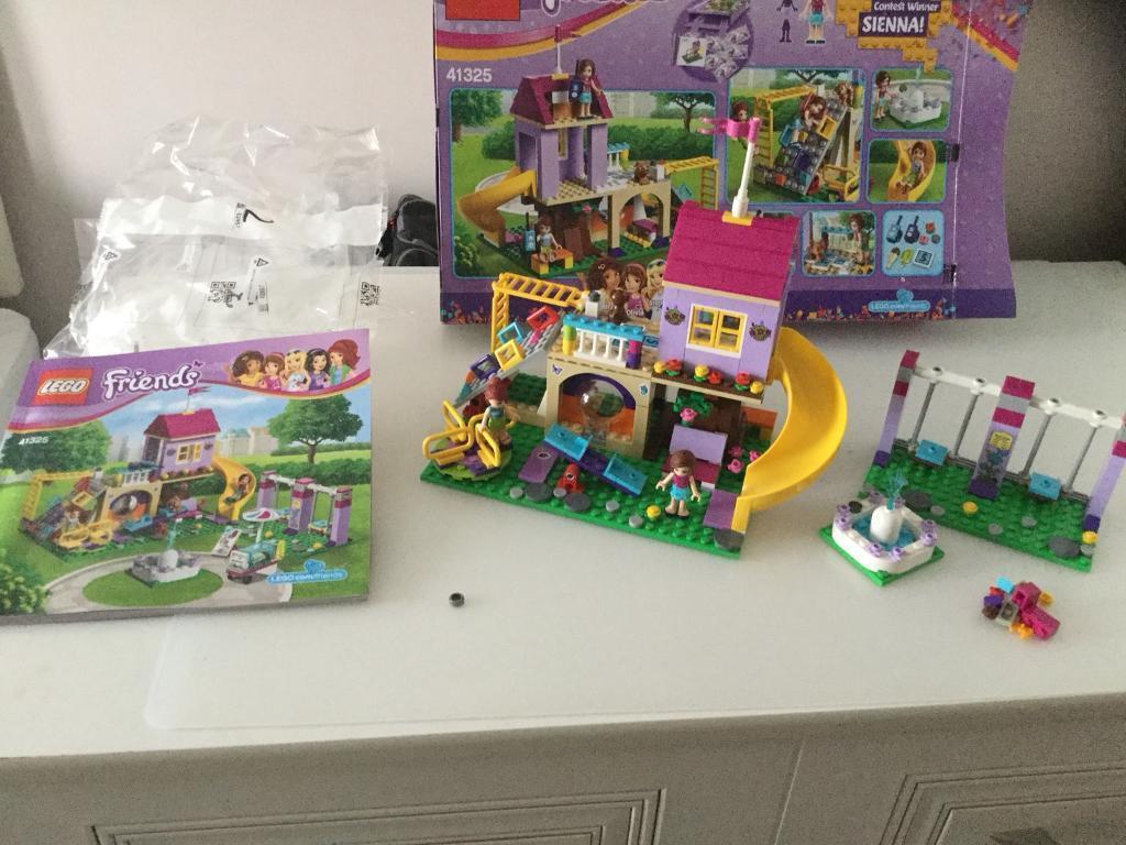 Heartlake City Playground Lego Toys Michaelieclark
