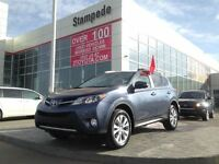 2013 Toyota RAV4 Limited w/Leather and Navigation