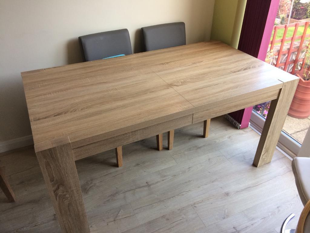 Next Madsen Dining Table Price REDUCED in Rotherham  : 86 from www.gumtree.com size 1024 x 768 jpeg 77kB