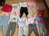 Bundle leggings and tops 10 sets in total