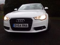 2014 Audi Automatic A6 Saloon 2.0TDI ultra SE S Tronic full leather heated front drop down rear