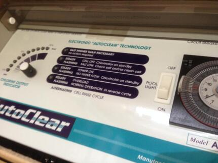SALT CHLORINATOR TOP SELF CLEANING AUTOCLEAR A150TL & CELL $550 Subiaco Subiaco Area Preview