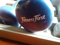 Fitness Furst Dumbell Set in case.2