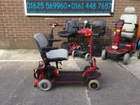 Small shoprider mobility scooter