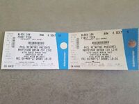 2 x Brian Cox Live Tickets Sheffield Arena Friday 5th May 1st Tier Seats