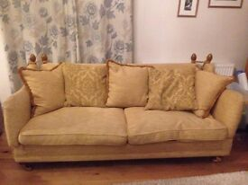 Very Large Knole Style Sofa,Clean Condition,can deliver 07989088223