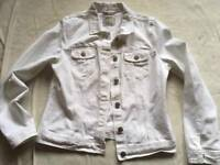 Denim co ladies jeans white Sz 10 used £4