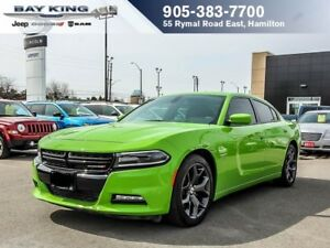 2017 Dodge Charger R/T, SUNROOF, HTD/VENTED SEATS, , REMOTE STAR