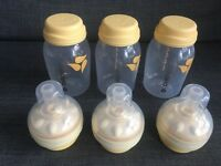Medela Calma bottles and Teats