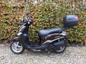 Yamaha XC 115 S Delight Scooter 2014 Low mileage