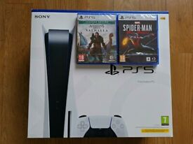 Sony PlayStation 5 PS5 Disc Console Bundle - BRAND NEW, SEALED