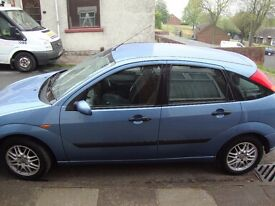 Ford Focus 1.6 lx 02 5 door hatchback