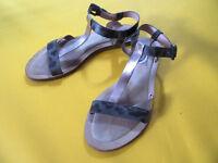"Paul Smith Sandal ""Fluellen"" - Bronze & Grey Leather - EUR37 / UK4"