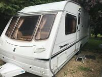 Abbey Acclaim SL 4 Berth Fixed Bed 2004