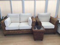 M&S conservatory Rattan furniture