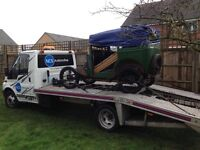 car/vehicle collection and delivery/recovery service in northampton