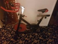 Spinning exercise bike fitness bike