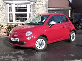Fiat 500 1.22 Colour Therapy - Automatic - 2014 Millage: 8700 miles