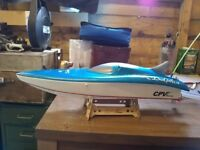 Dolphin RC speed boat