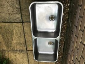 Double Stainless-Steel Sink