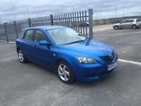 2005 Mazda 3 1,6 litre 5dr 1 owner