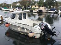 2007 Quicksilver 640 Fishing Boat