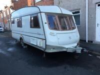 4 birth touring caravan