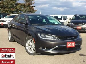 2015 Chrysler 200 C**LEATHER**PANORAMIC SUNROOF**