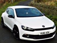 ★STUNNING★(2011) VOLKSWAGEN SCIROCCO GT TDI 210BHP★ BLACK STYLING PACK - FULL LEATHER - REMAPPED