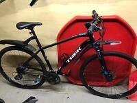 Trek 8.3 DS hybrid (commuter bike)