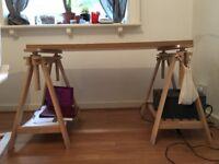 Adjustable Custom Ikea Desk