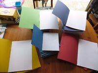 Job lot of 86 Unused School Excercise Books Margin Homework Class Consortium Assorted