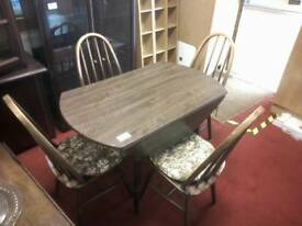 Dining table & 4 chairs tcl 20411