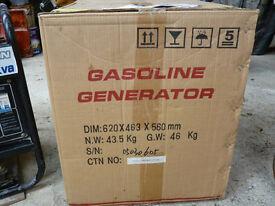 Generator Petrol 6.5 kva. NEW. SOLD. SOLD