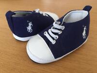 Ralph Lauren Polo shoes 12-15 months - never worn
