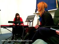 Singing, guitar, piano and songwriting lessons with Recording facilities available.