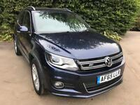 VW Tiguan (58 plate) Blue Automatic Full VW service history