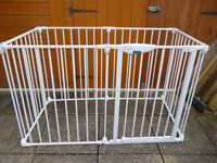Lindam Playpen - can be used as a room divider